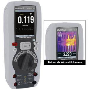 Voltcraft Caméra thermique avec fonction multimètre VC-8307430 -20 à +260 °C 80 x 80 pix 50 Hz 1 pc(s)