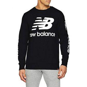 New Balance Mt83573 Essentials Logo sweat noir S EU