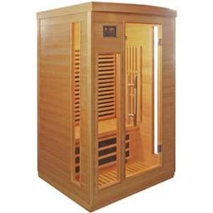 Image de Sauna infrarouge panneaux carbone 2050W 2 places - SNÖ