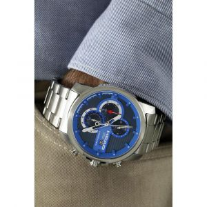 Head Montres -watches Topspin - Metal / Blue - One Size