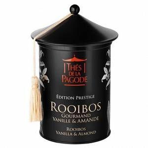Thés de la pagode Edition Prestige Rooibos Gourmand Vanille Amande - 100 g