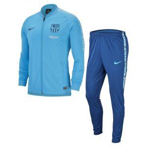 Nike Survêtement de football FC Barcelona Dri-FIT Squad pour Homme - Bleu - Taille S