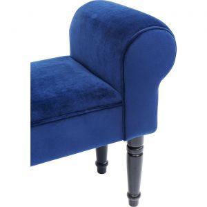 Kare Design Banquette Velours Bleu JOSEFINE