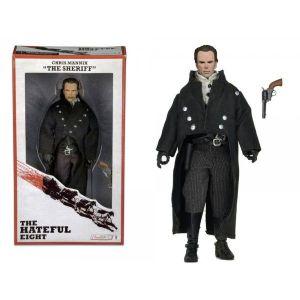 Neca Sheriff Chris Mannix Retro Style 20 cm - Figurine Les 8 Salopards
