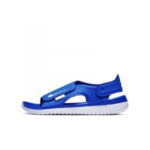 Nike Sandale Sunray Adjust 5 pour Jeune enfant/Enfant plus âgé - Bleu - Taille 32 - Unisex