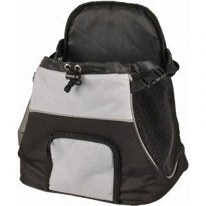 Flamingo Caisse de transport pour animaux Sybil Noir et gris 518123