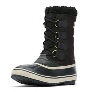 Sorel 1964 Pac Nylon EU 44 1/2 Black / Ancient Fossil - Black / Ancient Fossil - Taille EU 44 1/2