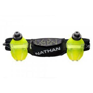 Nathan Ceinture Hydratation Trail Mix Plus 2 600mL Sac hydratation / Gourde Vert - Taille TU