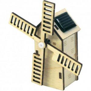 Sol-expert Mini moulin à vent hollandais solaire