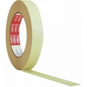 Outibat Ruban adhésif papier crépé - Longueur 50 m - Largeur 19 mm