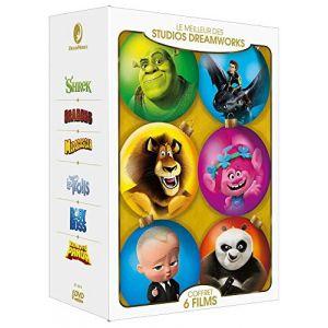 Le Meilleur des Studios DreamWorks : Shrek + Dragons + Madagascar + Les Trolls + Baby Boss + Kung Fu Panda [DVD]