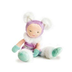 Doudou et Compagnie Lady Poupées - Coffret de 5 poupées assorties