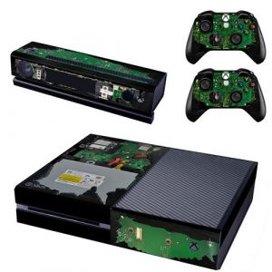 Reytid Xbox One Console peau / Sticker + 2 x Controller Stickers & Kinect Wrap - mécanique interne