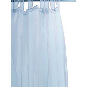 Soleil d'Ocre Voilage à pattes spécial baies vitrées 280 x 250 cm