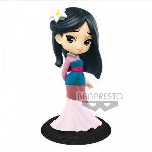 Banpresto Characters Q Posket Mulan Pastel Color B 14cm [Goodies]