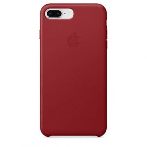 Apple Coque en cuir RED iPhone 8 Plus / 7 Plus