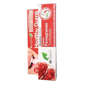 Dr. Organic Healthy gums - Organic pomegranate tootpaste