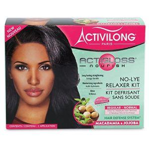Activilong Actigloss nourish - Kit défrisant sans soude macadamia et jojoba