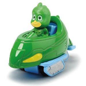 Majorette Dickie Toys Figurine Gluglu et véhicule Pyjamasques single pack vert