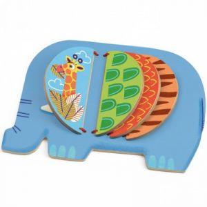 Djeco Livre d'éveil Elephant Moussa