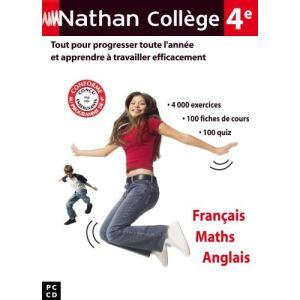 Collège 4ème : Français, Maths, Anglais - 2007 [Windows]