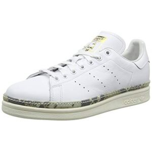 Adidas Stan Smith New Bold W, Chaussures de Gymnastique Femme, Blanc FTWR Off White/Supplier Colour, 37 1/3 EU