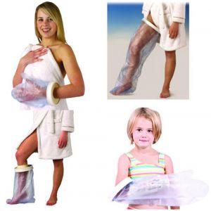 Image de Identités Protection étanche pour pansement ou plâtre adulte - Protection pied/cheville