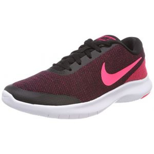 Nike W Flex Experience RN 7, Chaussures de Running Femme, Multicolore (Black/Racer Pink-Wild Cherry-White 006), 38 EU