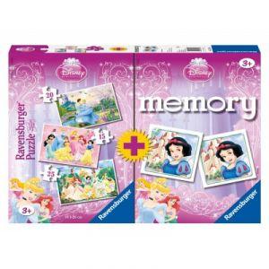 Image de Ravensburger 3 puzzles et memory Princesses