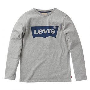 Levi's T-shirt enfant n91005h Gris - Taille 10 ans,12 ans,14 ans,16 ans