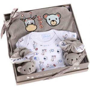 Les bébés d'Elyséa Les Bébés d Elysea Coffret zoo - gris