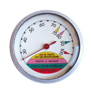 Guillouard Thermomètre cadran rond pour stérilisateur