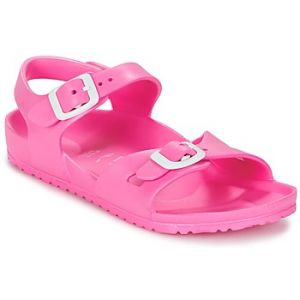 Birkenstock Rio, Sandales Bride Arriere Mixte Enfant, Rose (Rose Neon Pink) 34 EU