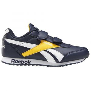 Reebok Chaussures running Royal Classic Jogger 2 2v Kid - Collegiate Navy / Solar Gold / White - Taille EU 32