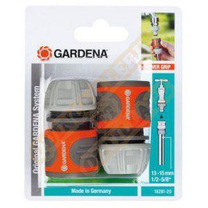 Gardena 18281-20 - 2 Raccords d'arrosage rapides pour tuyau Ø 13 - 15 mm