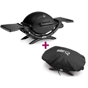 Weber Q1200 - Barbecue à gaz + housse