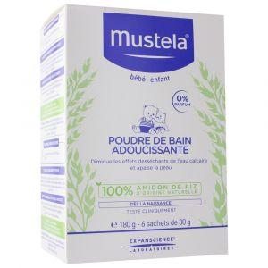 Mustela Poudre de bain adoucissante 180 g