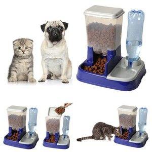 ProBache Distributeur eau et croquettes automatique pour chien et chat