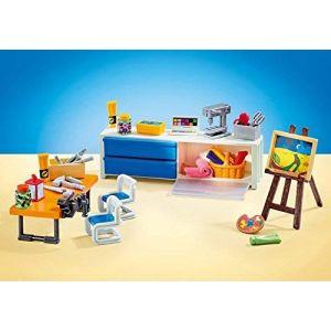 Playmobil 9811 - La Salle De Classe d'arts Plastiques - Emballage Plastique, Pas de boîte