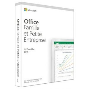 Logiciel Office Home and Business 2019 French France Only Mdls Save Now P6 [Windows]