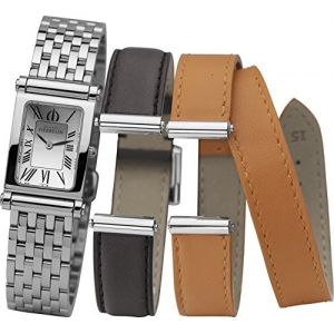 Michel Herbelin Coffret Montres Antares COF.17048-B01SO - Montre Bracelets Cuir Acier Femme