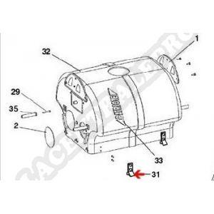 Procopi 1013094 - Cliquet de fixation porte filtre de Patriote