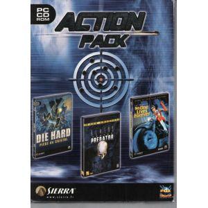 Pack Action Sierra : Die Hard Piege De Cristal ; Aliens Vs Predator 1 ; No One Lives Forever [PC]