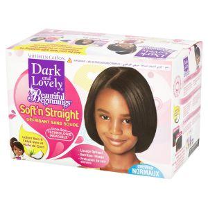 Dark & lovely Beautiful Beginnings Scalp Care Relaxer Coconut Oil & Aloe Vera