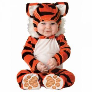 Déguisement tigre pour bébé premium