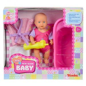 Simba Toys Mini New Born Baby - Ensemble bébé