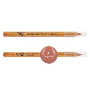 So'Bio Étic Crayon Contour des Lèvres 01 Beige Nude