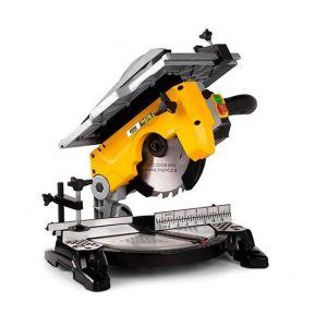 Job-line Scie à onglet avec table supérieure D. 210 x Al. 30 mm - 230V 1200W - TR 076