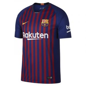 Nike Maillot de football 2018/19 FC Barcelona Stadium Home pour Homme - Bleu Taille 2XL