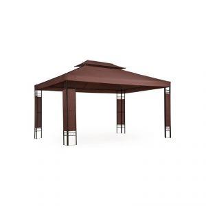 2201012 - Tonnelle de jardin pavillon métal 4 x 3 m